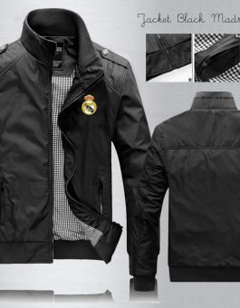 Jaket Waterproof Real Madrid