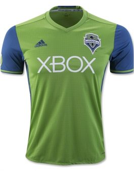 Jersey Seattle Sounders Home 2016-2017 Terbaru