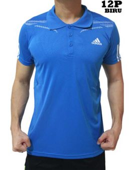 Polo Shirt Adidas 12P Blue