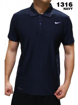 Polo Shirt Nike 1316 Navy