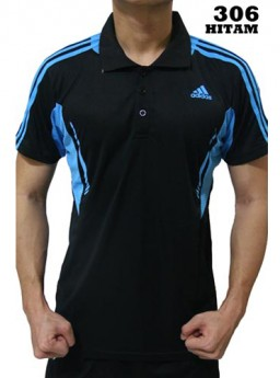 Polo Shirt Adidas 306 Black