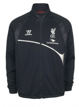 Jaket Liverpool Black Training 2014-2015
