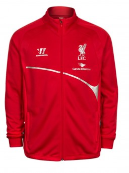 Jaket Liverpool Training Red 2014-2015