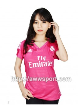 Jersey Ladies Real Madrid Away 2014-2015 Official