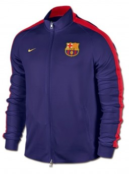 Jaket Barcelona Home Blue Red 2014-2015