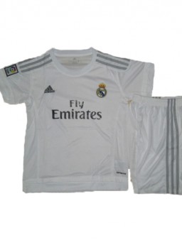 Jersey Kids Real Madrid Home 2015-2016