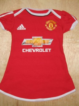 Jersey Bayi Cewek Manchester United Home 2015-2016