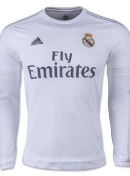 Jersey Real Madrid Home 2015-2016 Longsleeve