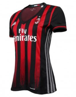 Jersey Ladies AC Milan Home 2016-2017 Terbaru