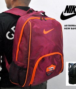 TAS RANSEL BOLA AS ROMA NEW ROTAN+ RAINCOVER