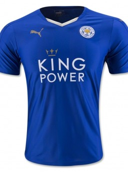 Jersey Leicester City Home 2015-2016 Terbaru