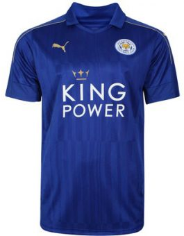 Jersey Leicester City Home 2016-2017 Terbaru