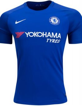 Nike Chelsea FC Stadium Home Jersey 17-18 – Rush Blue White