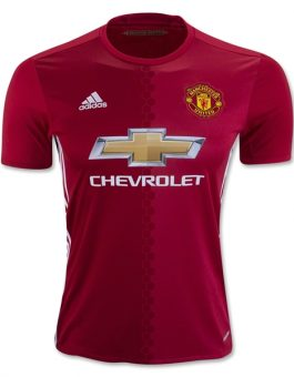 Jersey Manchester United Home 2016-2017 Terbaru