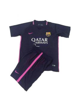 Jersey Kids Barcelona Away 2016-2017 Terbaru