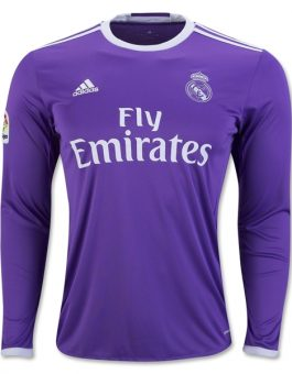 Jersey Real Madrid Away Longsleeve 2016-2017 Terbaaru