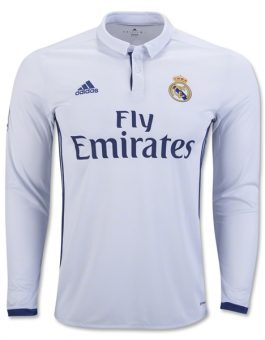 Jersey Real Madrid Home Longsleeve 2016-2017 Terbaru