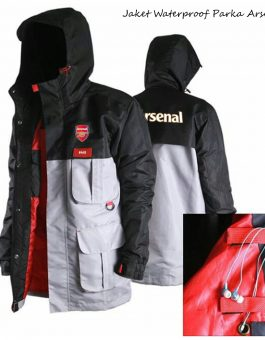 Jaket Waterproof Parka Arsenal