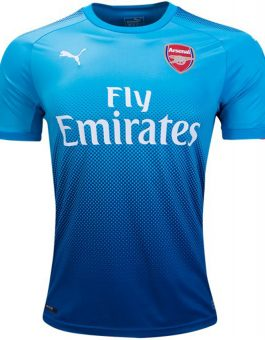 Jersey Arsenal Awat Blue 2017-2018 17-18 Grade Ori New