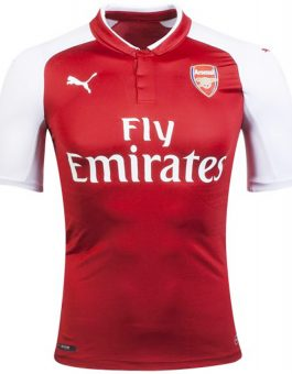 Jersey Arsenal Home 2017-2018 Terbaru