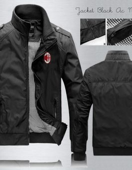 Jaket Waterproof AC Milan