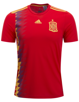 Jersey Spanyol Home Piala Dunia 2018