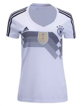 Jersey Wanita Jerman Home Piala Dunia 2018 | Replika Top Quality
