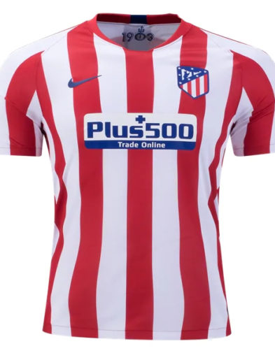 Jersey Atletico Madrid Home 2019-2020 Terbaru