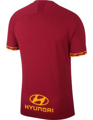 Jersey AS Roma Home Back 2019-2020