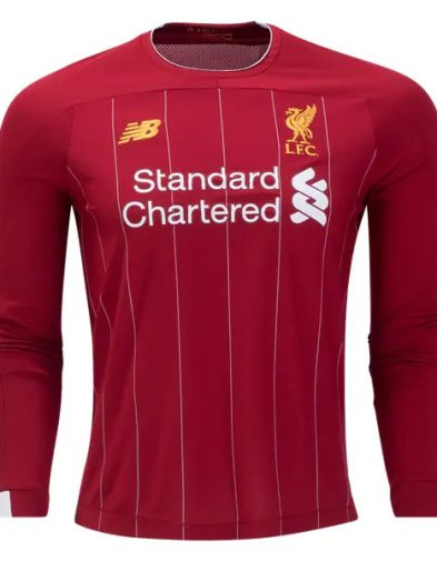 Jersey Liverpool Home LS 2019-2020