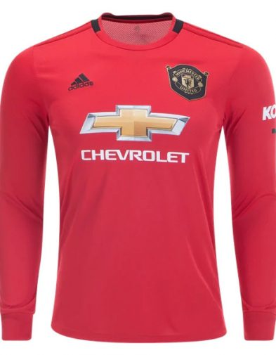 Jersey Manchester United Home LS 2019-2020