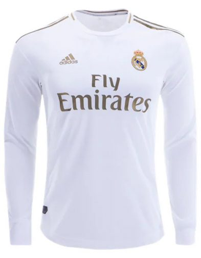 Jersey Real Madrid Home LS 2019-2020
